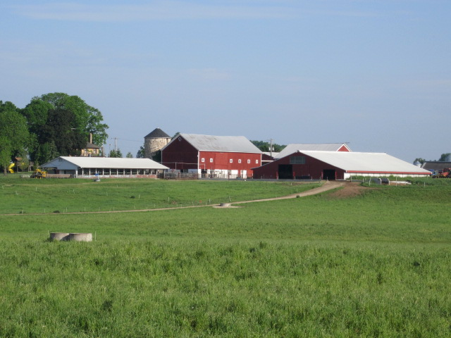 View of Saxon Homestead Farm