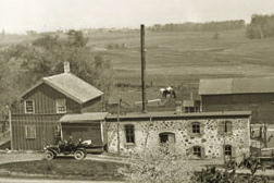 1912: The second cheese factory on Saxon Homestead Farm.