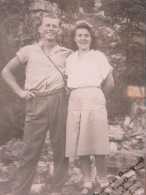 Ed and Margret Klessig in 1940.