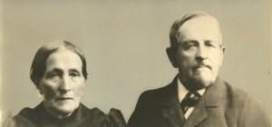 A portrait of Friedrich August Klessig and Elizabetha Wagner Klessig.