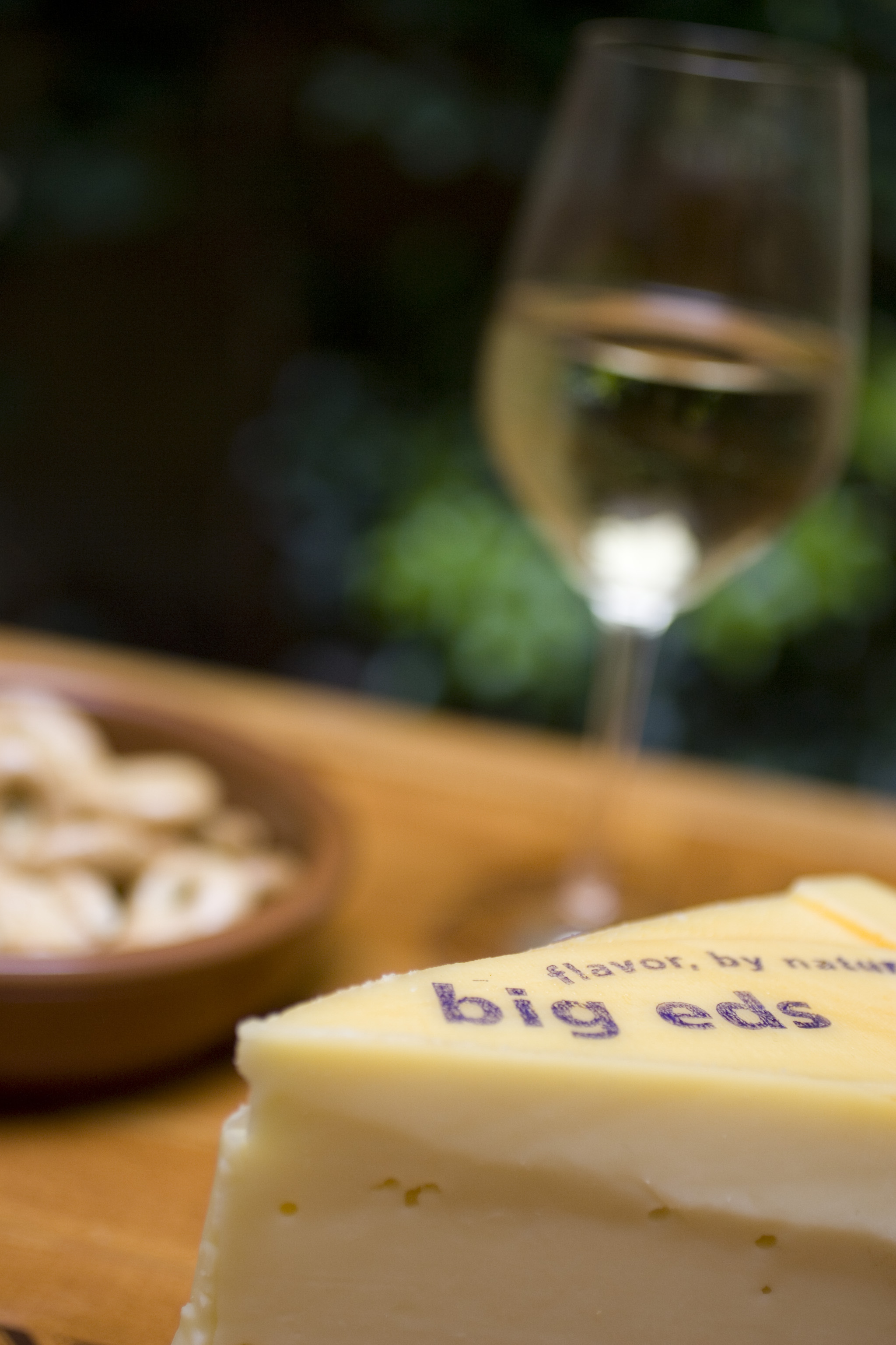 Big Ed's: A farm style Gouda, young, mild, but full of flavor, with a buttery body. Enthusiastic, like Ed Klessig, whom it was named after, it hugs you back but never offends.