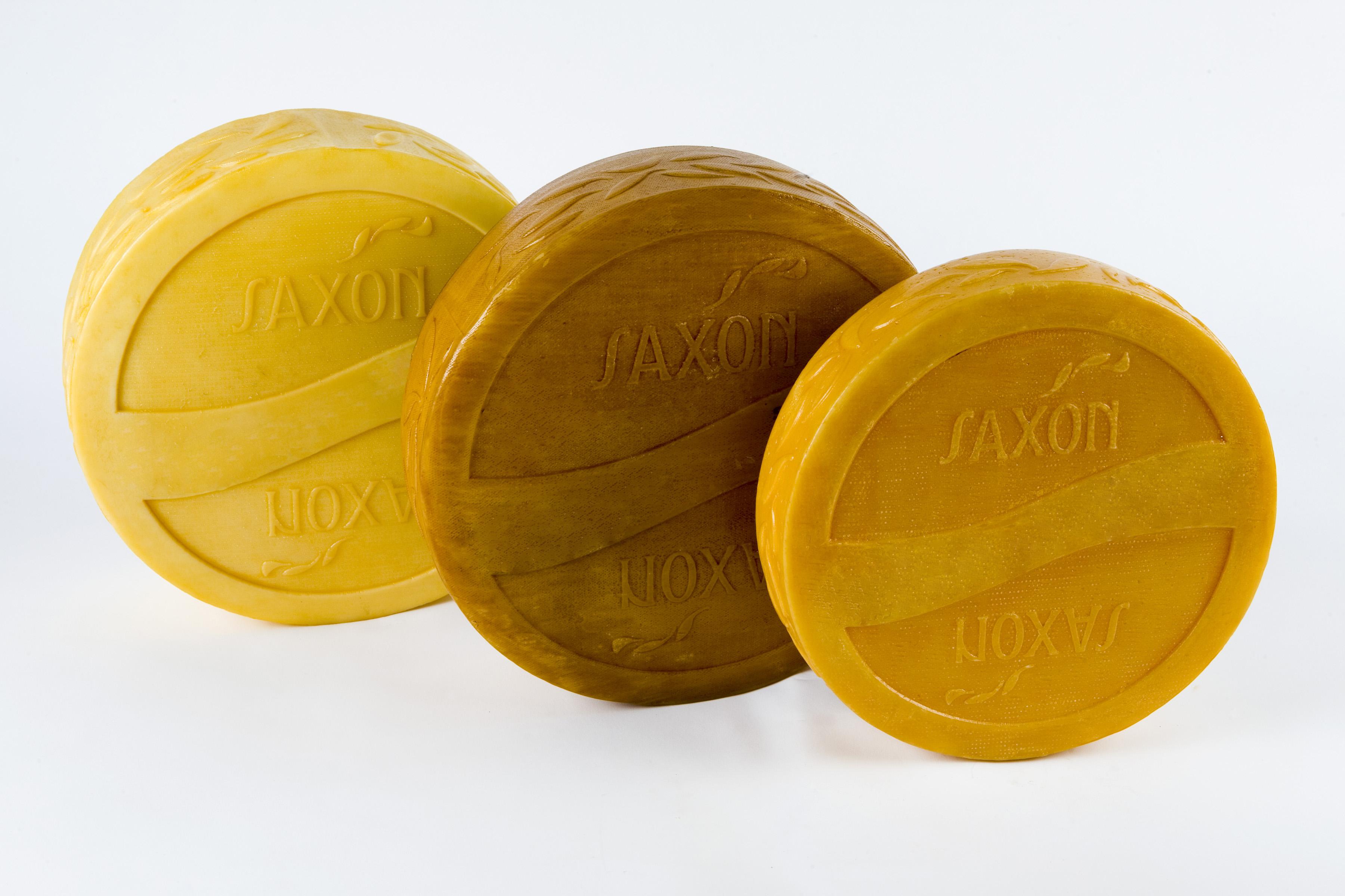 Wheels of Saxon cheese