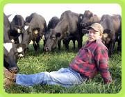 Robert in the pasture